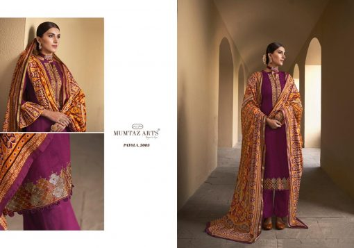 Mumtaz Arts Patola Salwar Suit Wholesale Catalog 10 Pcs 10 510x357 - Mumtaz Arts Patola Salwar Suit Wholesale Catalog 10 Pcs