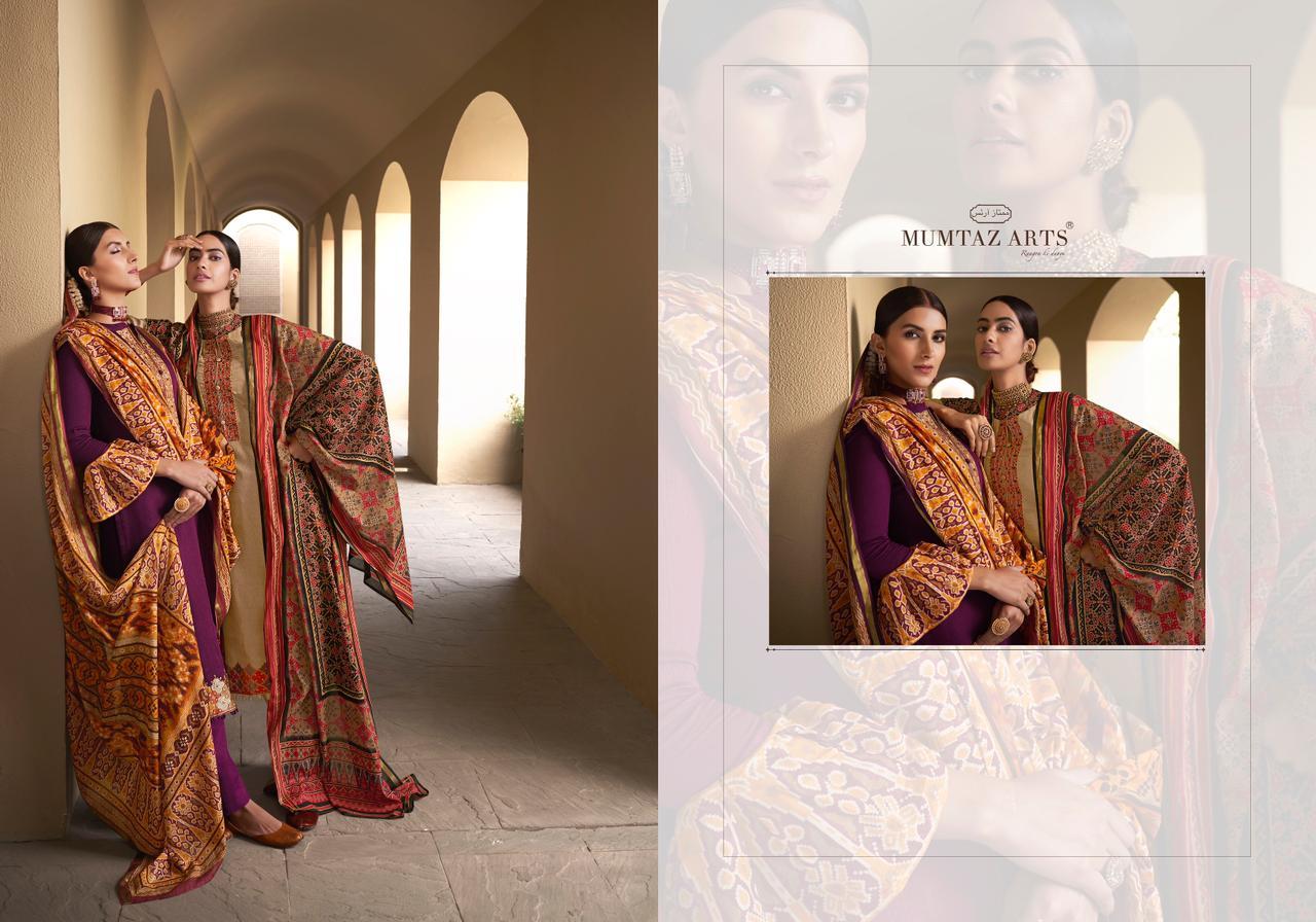 Mumtaz Arts Patola Salwar Suit Wholesale Catalog 10 Pcs 12 - Mumtaz Arts Patola Salwar Suit Wholesale Catalog 10 Pcs