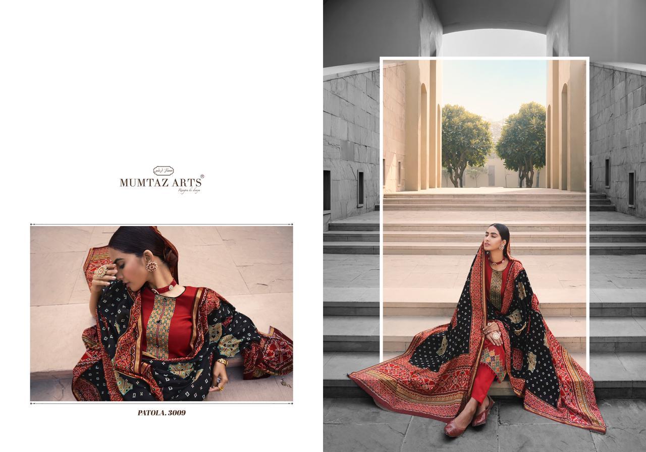 Mumtaz Arts Patola Salwar Suit Wholesale Catalog 10 Pcs 15 - Mumtaz Arts Patola Salwar Suit Wholesale Catalog 10 Pcs
