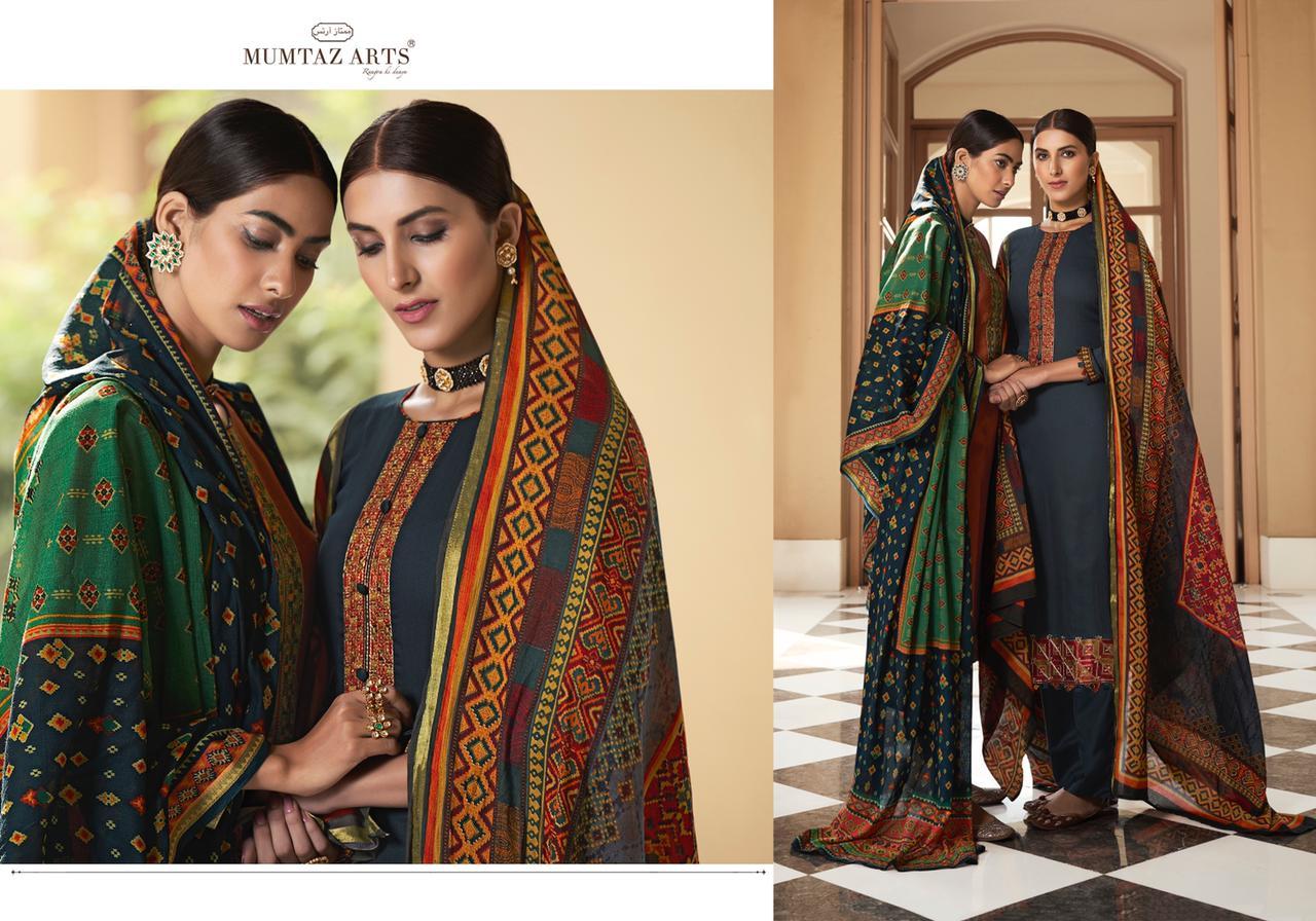 Mumtaz Arts Patola Salwar Suit Wholesale Catalog 10 Pcs 17 - Mumtaz Arts Patola Salwar Suit Wholesale Catalog 10 Pcs