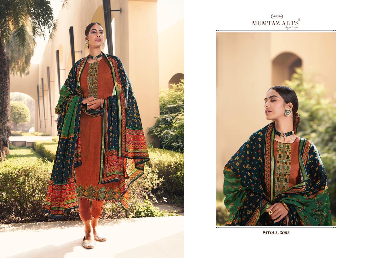 Mumtaz Arts Patola Salwar Suit Wholesale Catalog 10 Pcs 4 - Mumtaz Arts Patola Salwar Suit Wholesale Catalog 10 Pcs