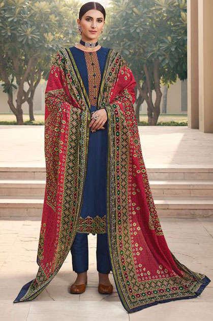 Mumtaz Arts Patola Salwar Suit Wholesale Catalog 10 Pcs