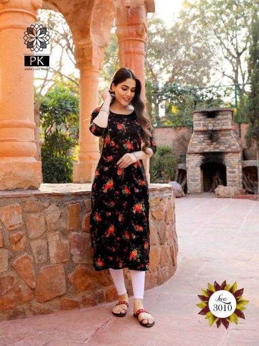 Pk Fashion Liva Vol 3 Kurti Wholesale Catalog 13 Pcs 10 510x680 - Pk Fashion Liva Vol 3 Kurti Wholesale Catalog 13 Pcs