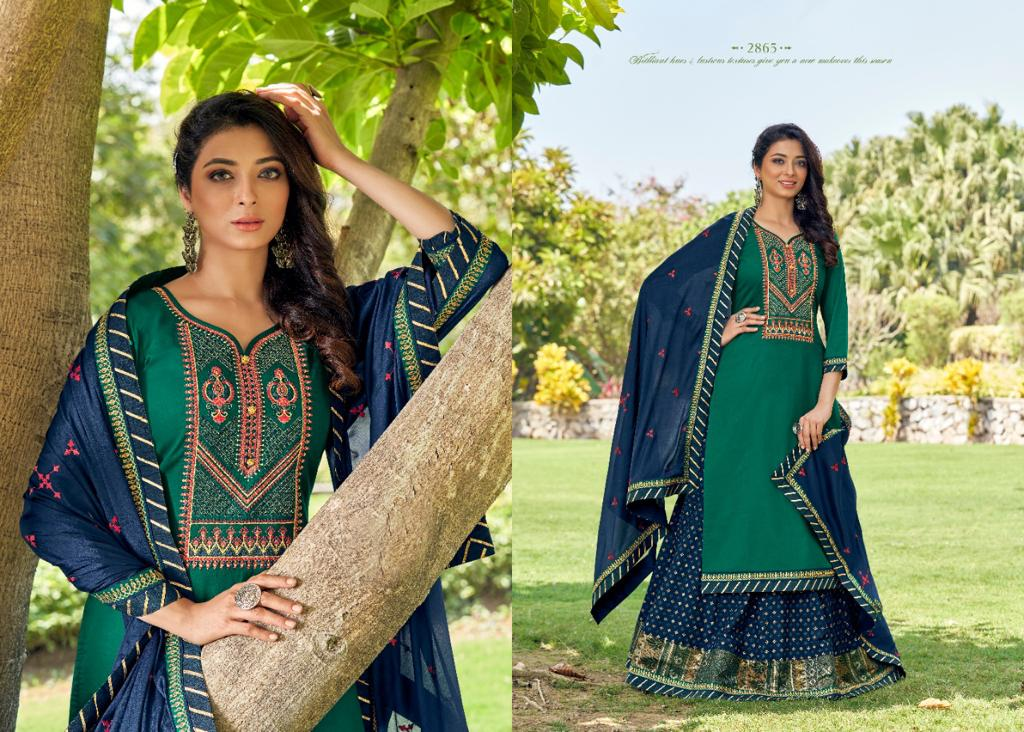 Rangoon Mastani by Kessi Readymade Salwar Suit Wholesale Catalog 6 Pcs 1 - Rangoon Mastani by Kessi Readymade Salwar Suit Wholesale Catalog 6 Pcs