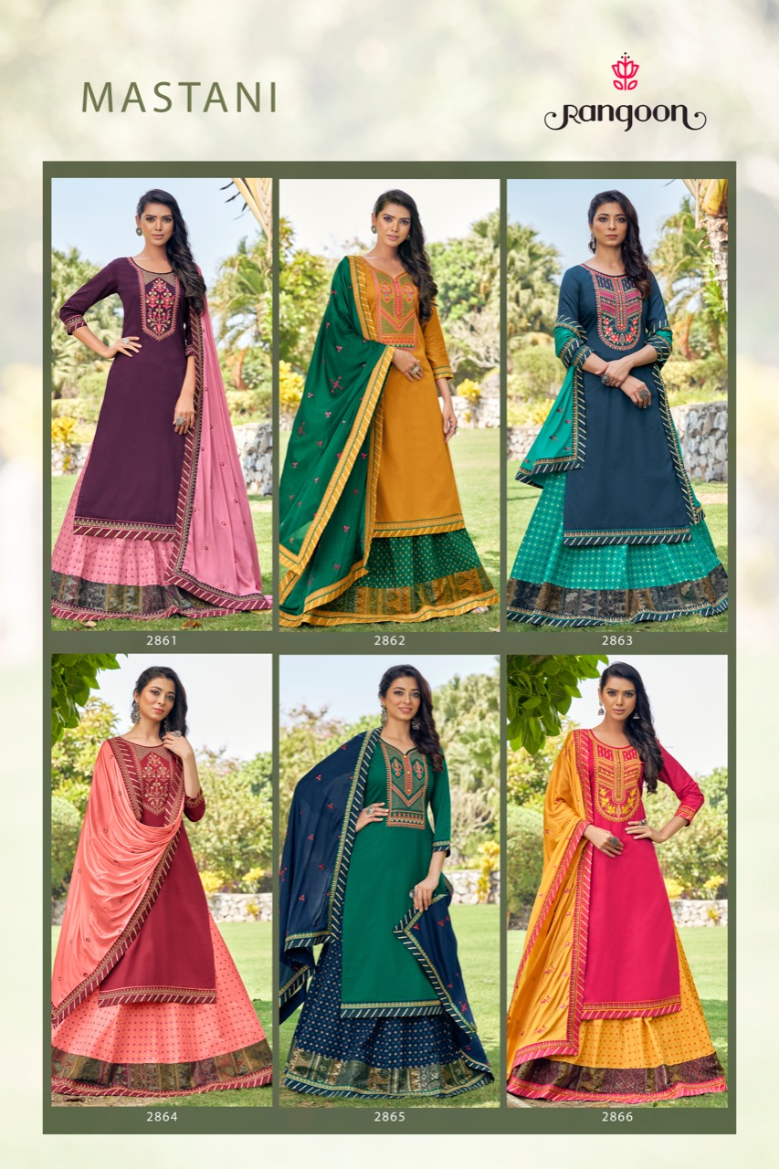 Rangoon Mastani by Kessi Readymade Salwar Suit Wholesale Catalog 6 Pcs 10 - Rangoon Mastani by Kessi Readymade Salwar Suit Wholesale Catalog 6 Pcs