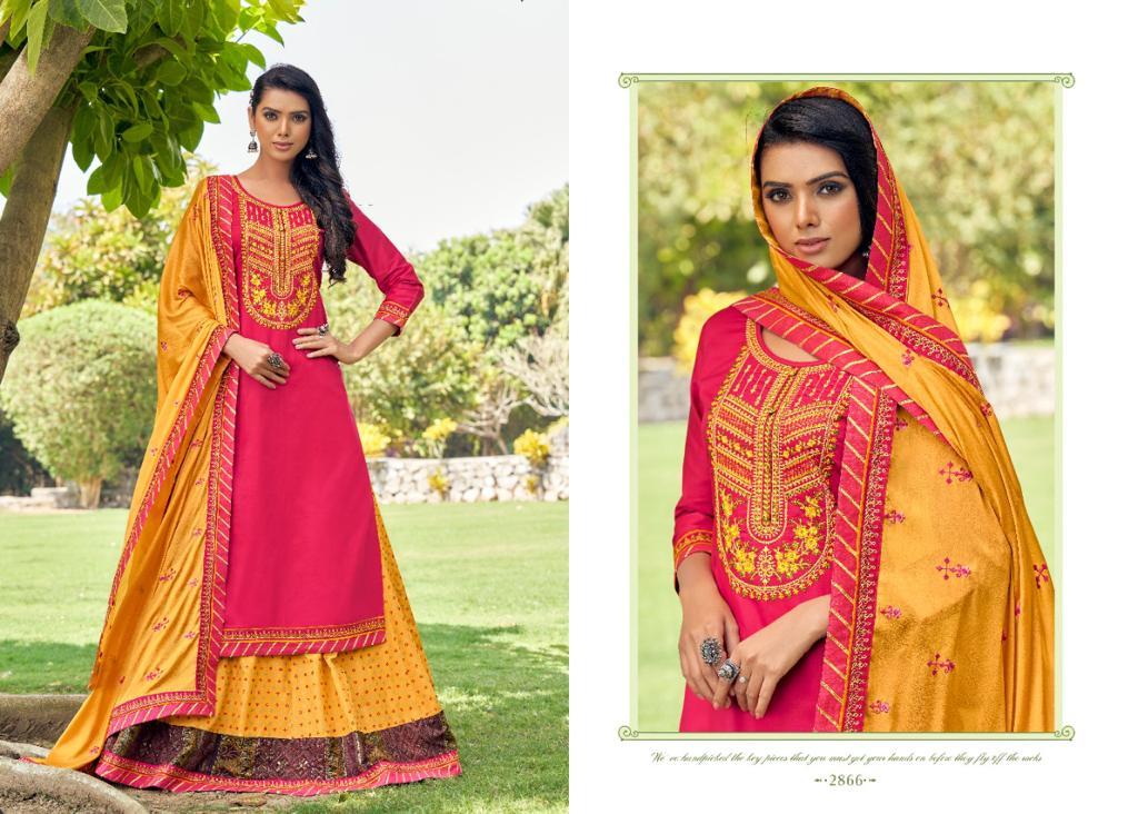 Rangoon Mastani by Kessi Readymade Salwar Suit Wholesale Catalog 6 Pcs 6 - Rangoon Mastani by Kessi Readymade Salwar Suit Wholesale Catalog 6 Pcs