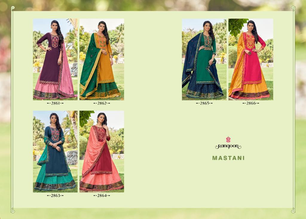 Rangoon Mastani by Kessi Readymade Salwar Suit Wholesale Catalog 6 Pcs 9 - Rangoon Mastani by Kessi Readymade Salwar Suit Wholesale Catalog 6 Pcs