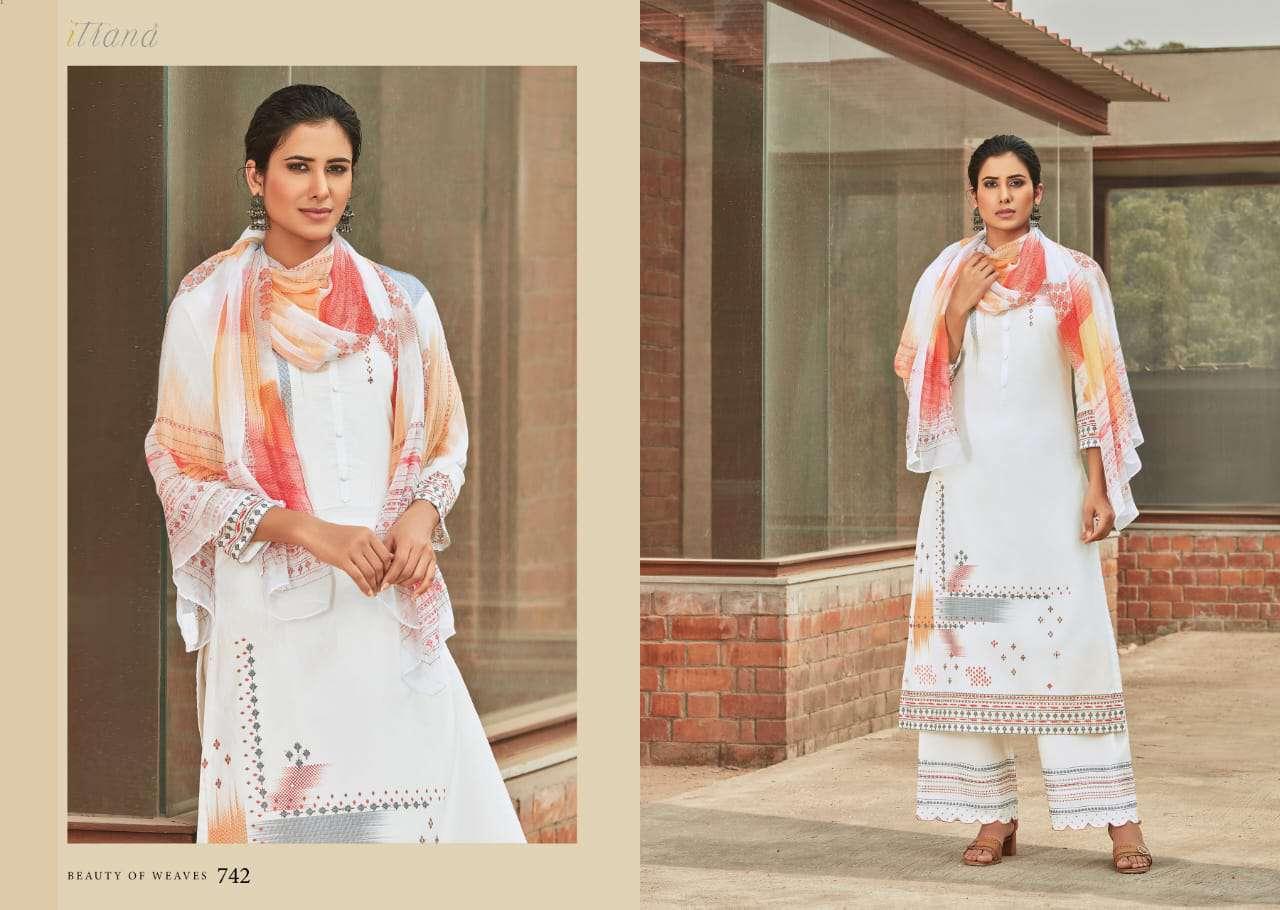 Sahiba Itrana Beauty of Weaves Salwar Suit Wholesale Catalog 10 Pcs 12 - Sahiba Itrana Beauty of Weaves Salwar Suit Wholesale Catalog 10 Pcs