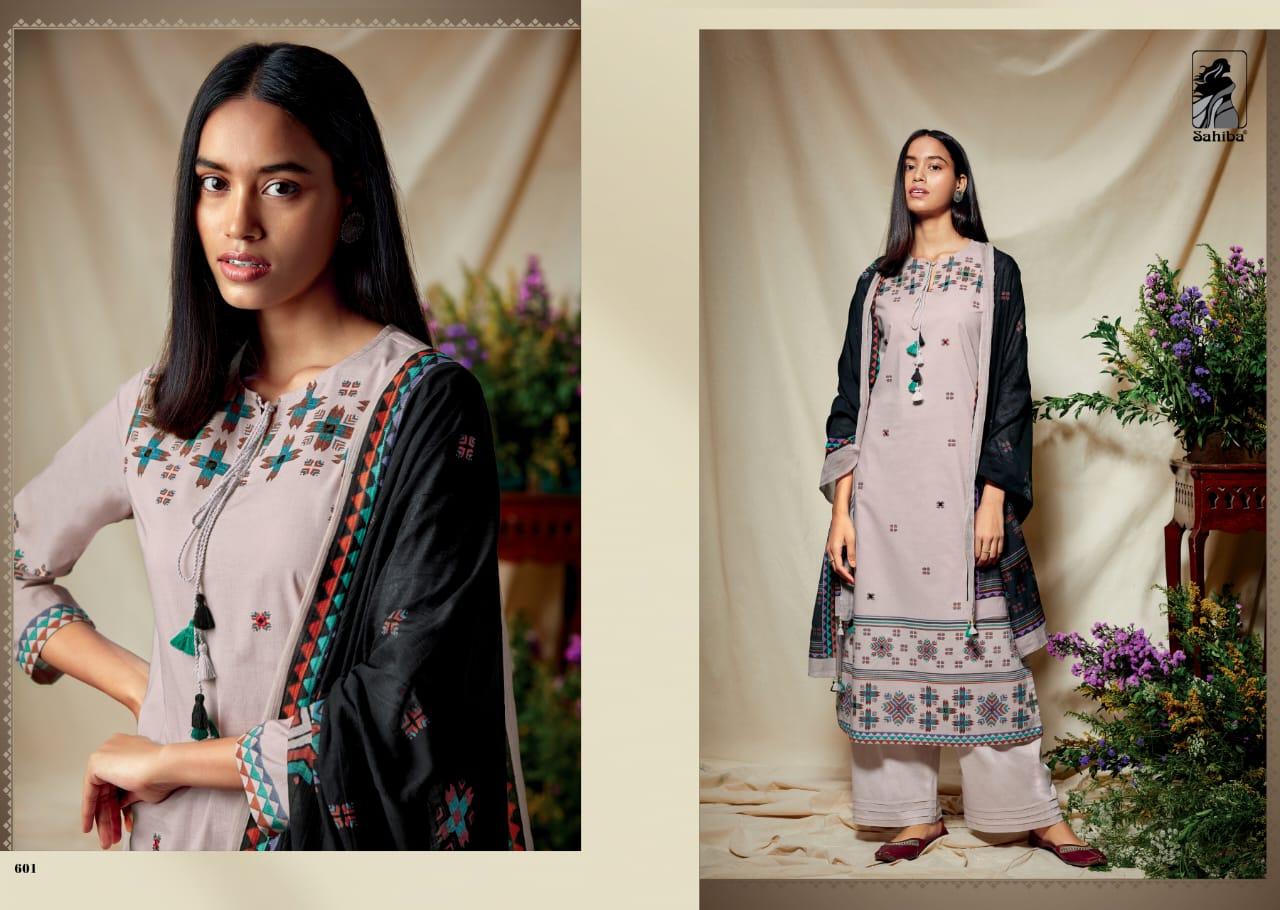 Sahiba Phulkari Salwar Suit Wholesale Catalog 10 Pcs 1 - Sahiba Phulkari Salwar Suit Wholesale Catalog 10 Pcs