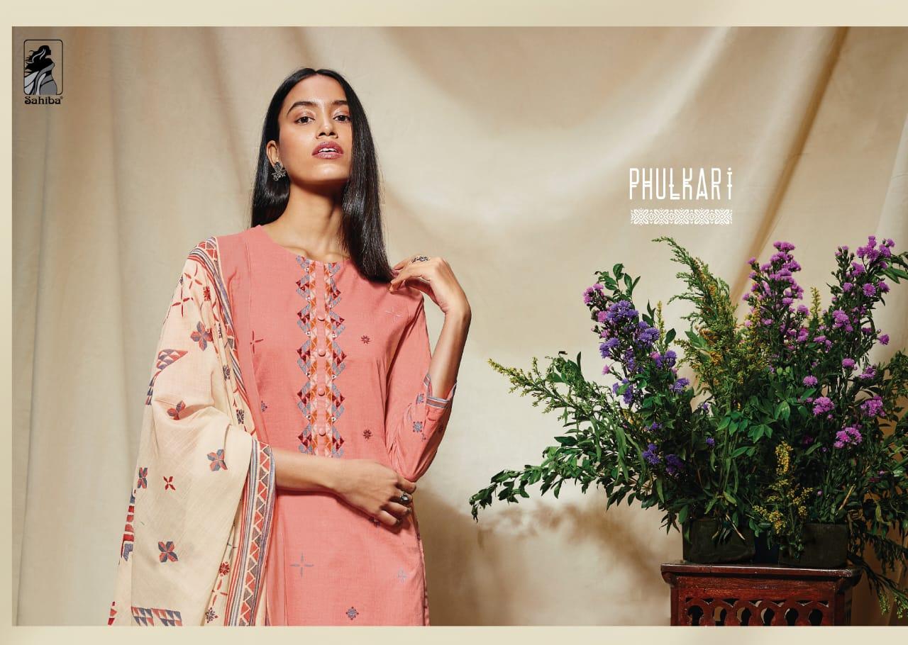 Sahiba Phulkari Salwar Suit Wholesale Catalog 10 Pcs 12 - Sahiba Phulkari Salwar Suit Wholesale Catalog 10 Pcs