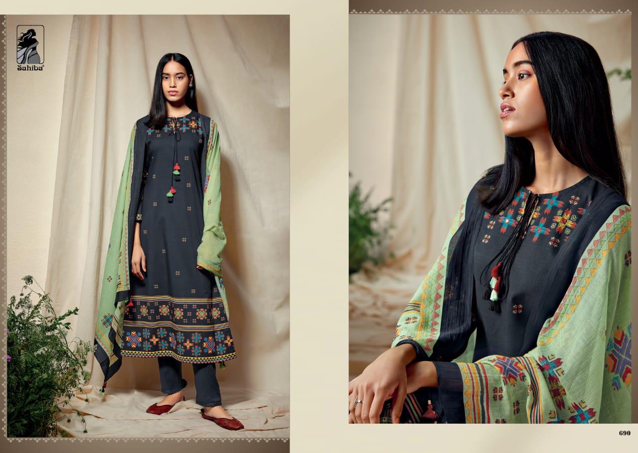 Sahiba Phulkari Salwar Suit Wholesale Catalog 10 Pcs 3 - Sahiba Phulkari Salwar Suit Wholesale Catalog 10 Pcs