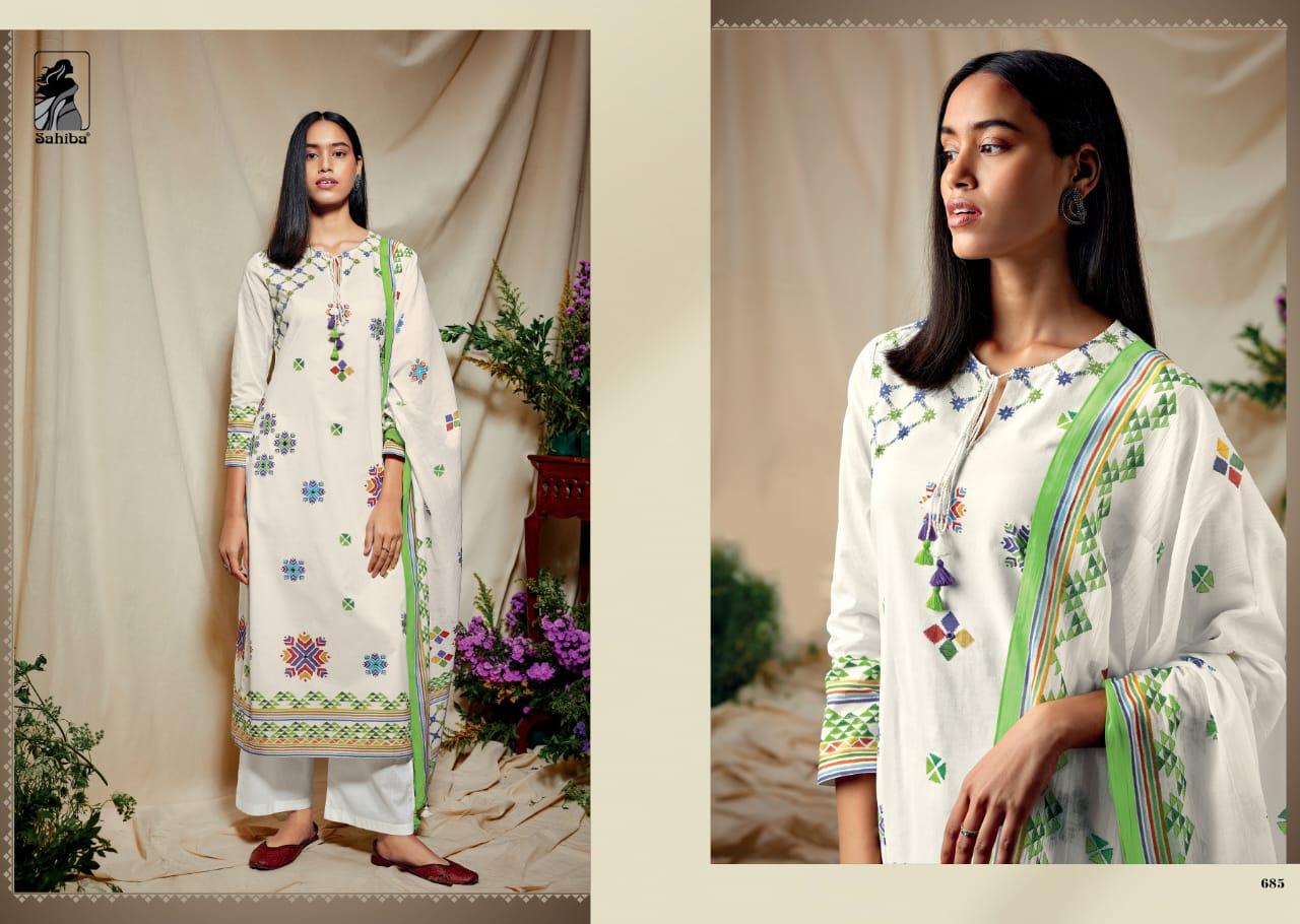 Sahiba Phulkari Salwar Suit Wholesale Catalog 10 Pcs 8 - Sahiba Phulkari Salwar Suit Wholesale Catalog 10 Pcs