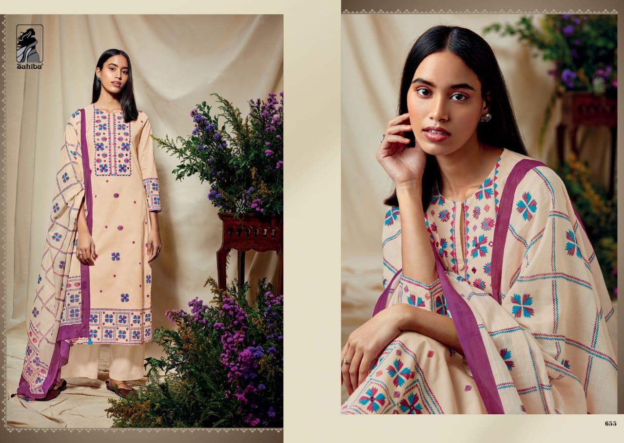 Sahiba Phulkari Salwar Suit Wholesale Catalog 10 Pcs 9 - Sahiba Phulkari Salwar Suit Wholesale Catalog 10 Pcs