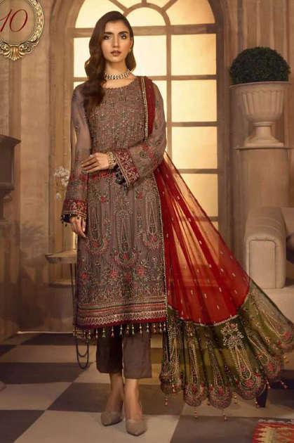 Serene Imrozia Salwar Suit Wholesale Catalog 5 Pcs