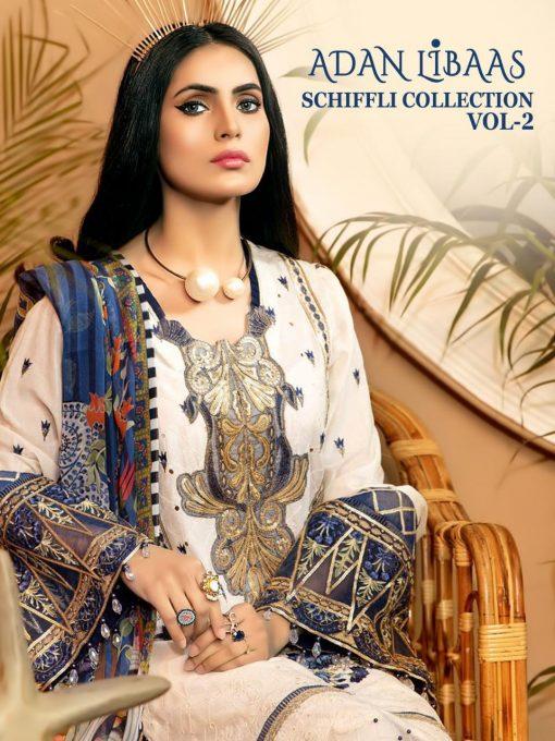 Shree Fabs Adan Libaas Schiffli Collection Vol 2 Salwar Suit Wholesale Catalog 6 Pcs 1 510x680 - Shree Fabs Adan Libaas Schiffli Collection Vol 2 Salwar Suit Wholesale Catalog 6 Pcs