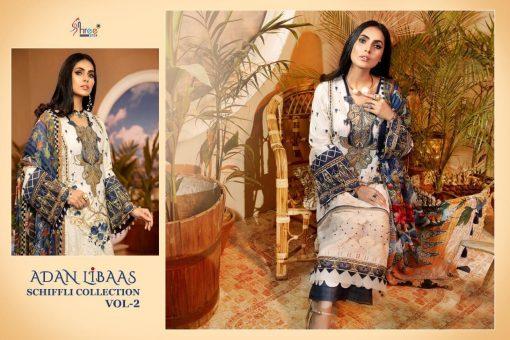 Shree Fabs Adan Libaas Schiffli Collection Vol 2 Salwar Suit Wholesale Catalog 6 Pcs 12 510x340 - Shree Fabs Adan Libaas Schiffli Collection Vol 2 Salwar Suit Wholesale Catalog 6 Pcs