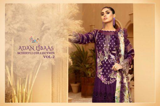 Shree Fabs Adan Libaas Schiffli Collection Vol 2 Salwar Suit Wholesale Catalog 6 Pcs 2 510x340 - Shree Fabs Adan Libaas Schiffli Collection Vol 2 Salwar Suit Wholesale Catalog 6 Pcs