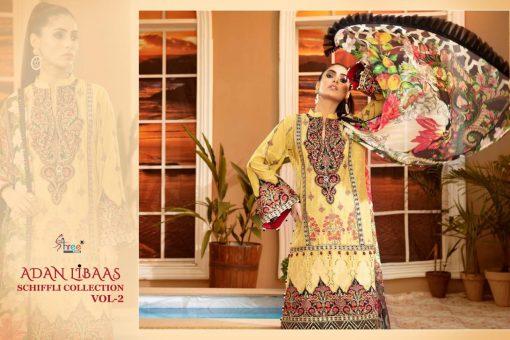 Shree Fabs Adan Libaas Schiffli Collection Vol 2 Salwar Suit Wholesale Catalog 6 Pcs 4 510x340 - Shree Fabs Adan Libaas Schiffli Collection Vol 2 Salwar Suit Wholesale Catalog 6 Pcs