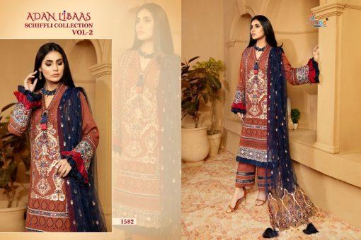 Shree Fabs Adan Libaas Schiffli Collection Vol 2 Salwar Suit Wholesale Catalog 6 Pcs 5 510x340 - Shree Fabs Adan Libaas Schiffli Collection Vol 2 Salwar Suit Wholesale Catalog 6 Pcs