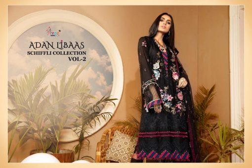 Shree Fabs Adan Libaas Schiffli Collection Vol 2 Salwar Suit Wholesale Catalog 6 Pcs 7 510x340 - Shree Fabs Adan Libaas Schiffli Collection Vol 2 Salwar Suit Wholesale Catalog 6 Pcs