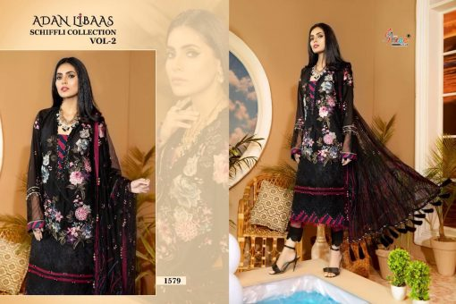 Shree Fabs Adan Libaas Schiffli Collection Vol 2 Salwar Suit Wholesale Catalog 6 Pcs 8 510x340 - Shree Fabs Adan Libaas Schiffli Collection Vol 2 Salwar Suit Wholesale Catalog 6 Pcs