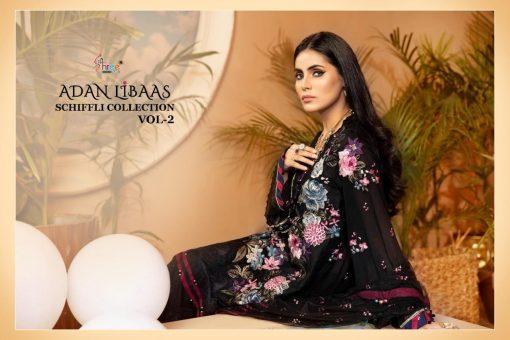 Shree Fabs Adan Libaas Schiffli Collection Vol 2 Salwar Suit Wholesale Catalog 6 Pcs 9 510x340 - Shree Fabs Adan Libaas Schiffli Collection Vol 2 Salwar Suit Wholesale Catalog 6 Pcs