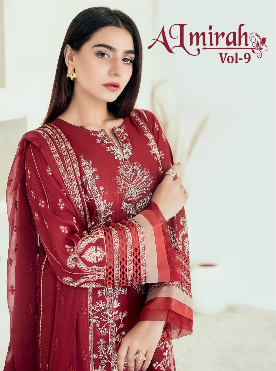 Shree Fabs Almirah Vol 9 Salwar Suit Wholesale Catalog 6 Pcs 1 - Shree Fabs Almirah Vol 9 Salwar Suit Wholesale Catalog 6 Pcs