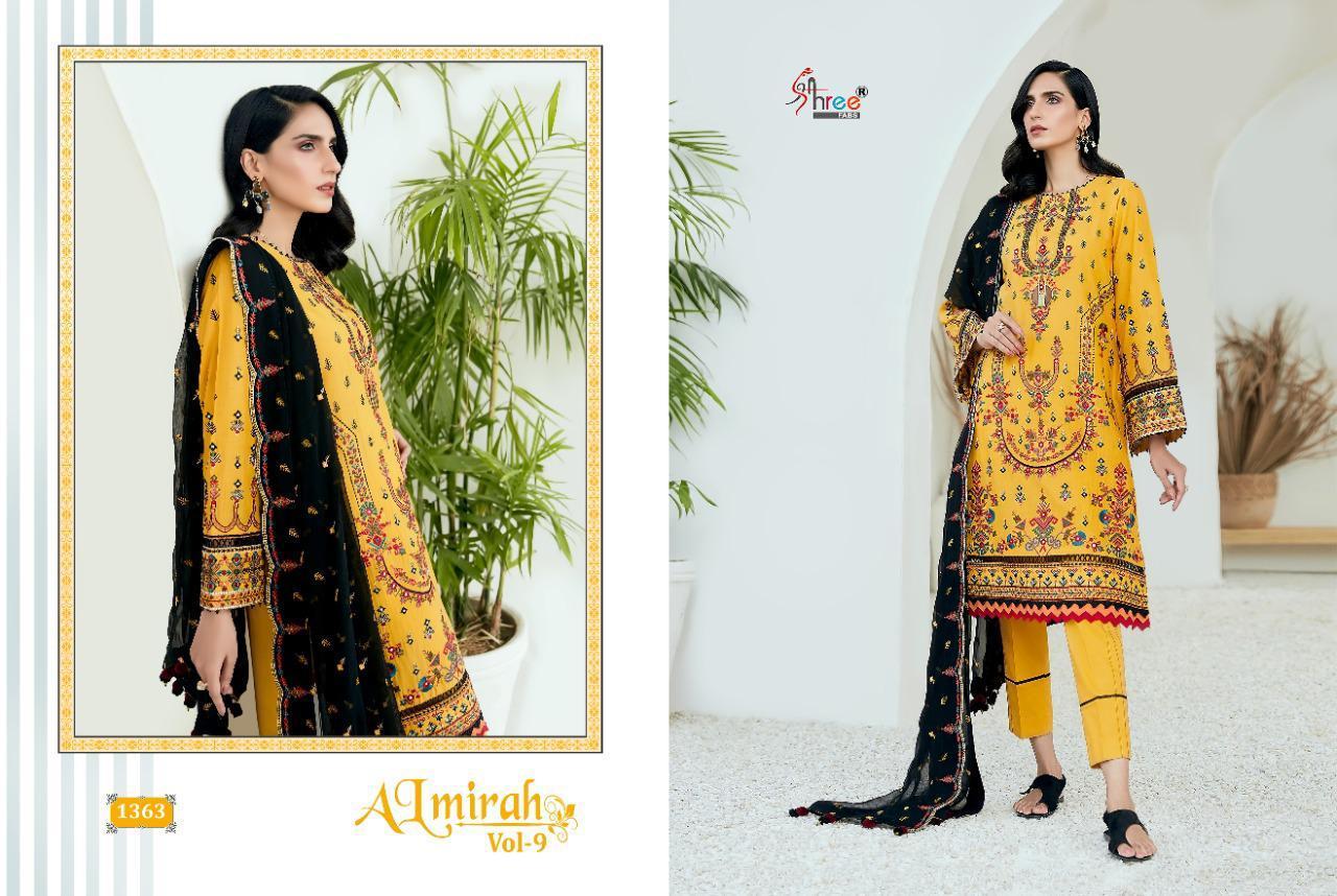 Shree Fabs Almirah Vol 9 Salwar Suit Wholesale Catalog 6 Pcs 3 - Shree Fabs Almirah Vol 9 Salwar Suit Wholesale Catalog 6 Pcs