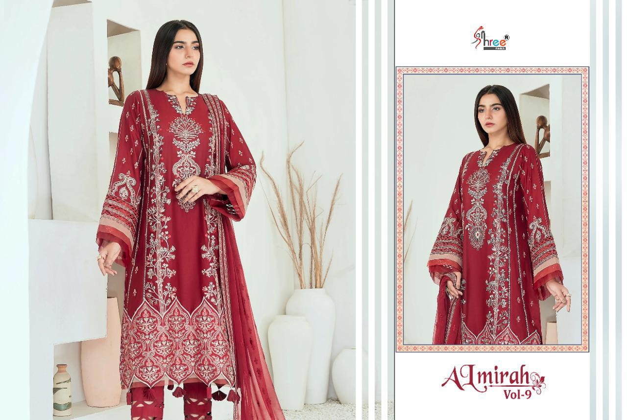 Shree Fabs Almirah Vol 9 Salwar Suit Wholesale Catalog 6 Pcs 8 - Shree Fabs Almirah Vol 9 Salwar Suit Wholesale Catalog 6 Pcs