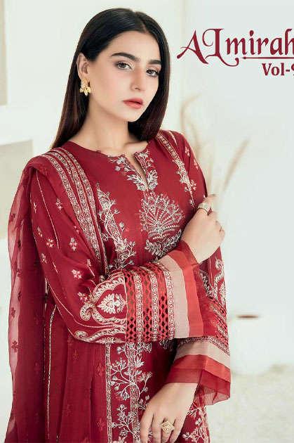 Shree Fabs Almirah Vol 9 Salwar Suit Wholesale Catalog 6 Pcs - Shree Fabs Almirah Vol 9 Salwar Suit Wholesale Catalog 6 Pcs