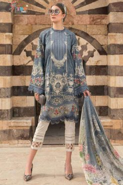 Shree Fabs Mariya B Lawn Collection 2021 Salwar Suit Wholesale Catalog 8 Pcs