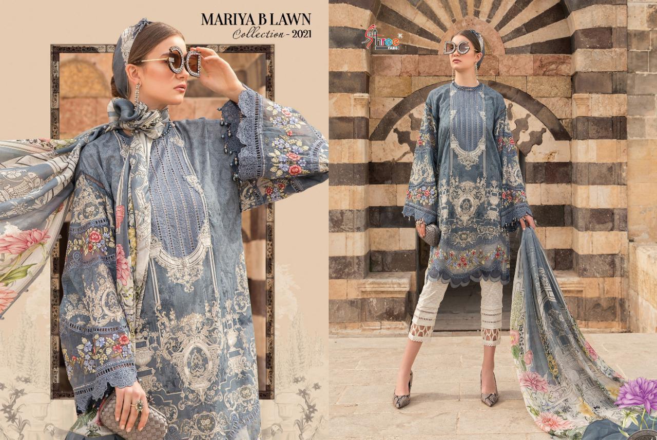 Shree Fabs Mariya B Lawn Collection 2021 Salwar Suit Wholesale Catalog 8 Pcs 7 - Shree Fabs Mariya B Lawn Collection 2021 Salwar Suit Wholesale Catalog 8 Pcs