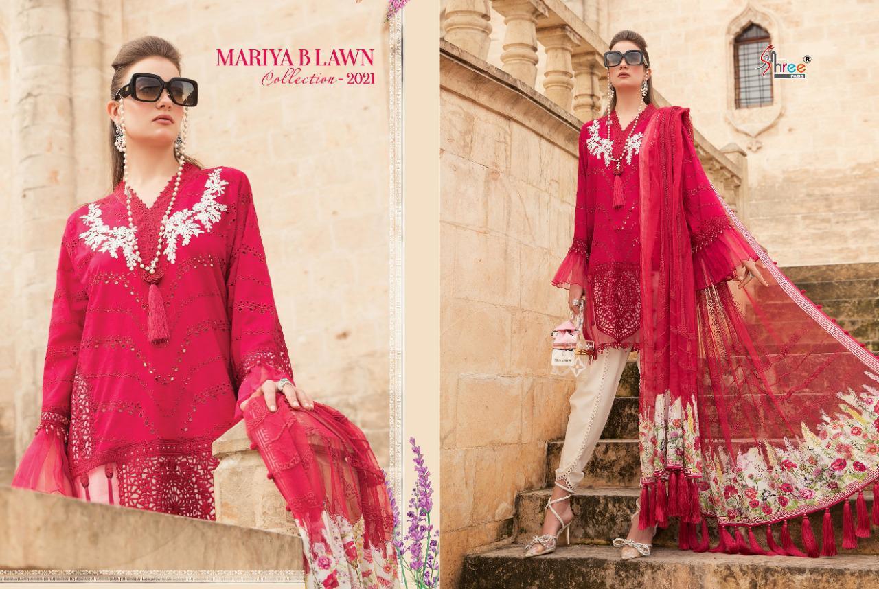 Shree Fabs Mariya B Lawn Collection 2021 Salwar Suit Wholesale Catalog 8 Pcs 9 - Shree Fabs Mariya B Lawn Collection 2021 Salwar Suit Wholesale Catalog 8 Pcs