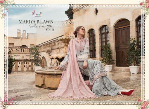 Shree Fabs Mariya B Lawn Collection 2021 Vol 2 Salwar Suit Wholesale Catalog 8 Pcs 14 510x375 - Shree Fabs Mariya B Lawn Collection 2021 Vol 2 Salwar Suit Wholesale Catalog 8 Pcs