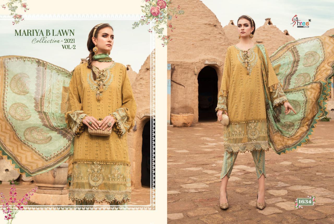 Shree Fabs Mariya B Lawn Collection 2021 Vol 2 Salwar Suit Wholesale Catalog 8 Pcs 3 - Shree Fabs Mariya B Lawn Collection 2021 Vol 2 Salwar Suit Wholesale Catalog 8 Pcs