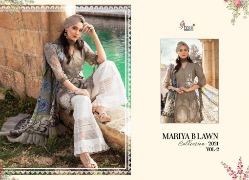 Shree Fabs Mariya B Lawn Collection 2021 Vol 2 Salwar Suit Wholesale Catalog 8 Pcs 4 510x368 - Shree Fabs Mariya B Lawn Collection 2021 Vol 2 Salwar Suit Wholesale Catalog 8 Pcs