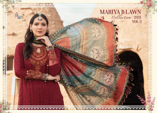 Shree Fabs Mariya B Lawn Collection 2021 Vol 2 Salwar Suit Wholesale Catalog 8 Pcs 6 510x368 - Shree Fabs Mariya B Lawn Collection 2021 Vol 2 Salwar Suit Wholesale Catalog 8 Pcs