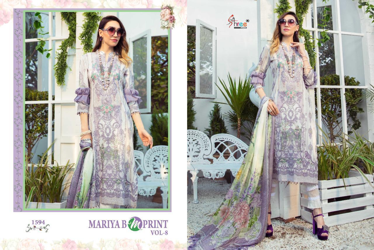 Shree Fabs Mariya B MPrint Vol 8 Salwar Suit Wholesale Catalog 9 Pcs 10 - Shree Fabs Mariya B MPrint Vol 8 Salwar Suit Wholesale Catalog 9 Pcs