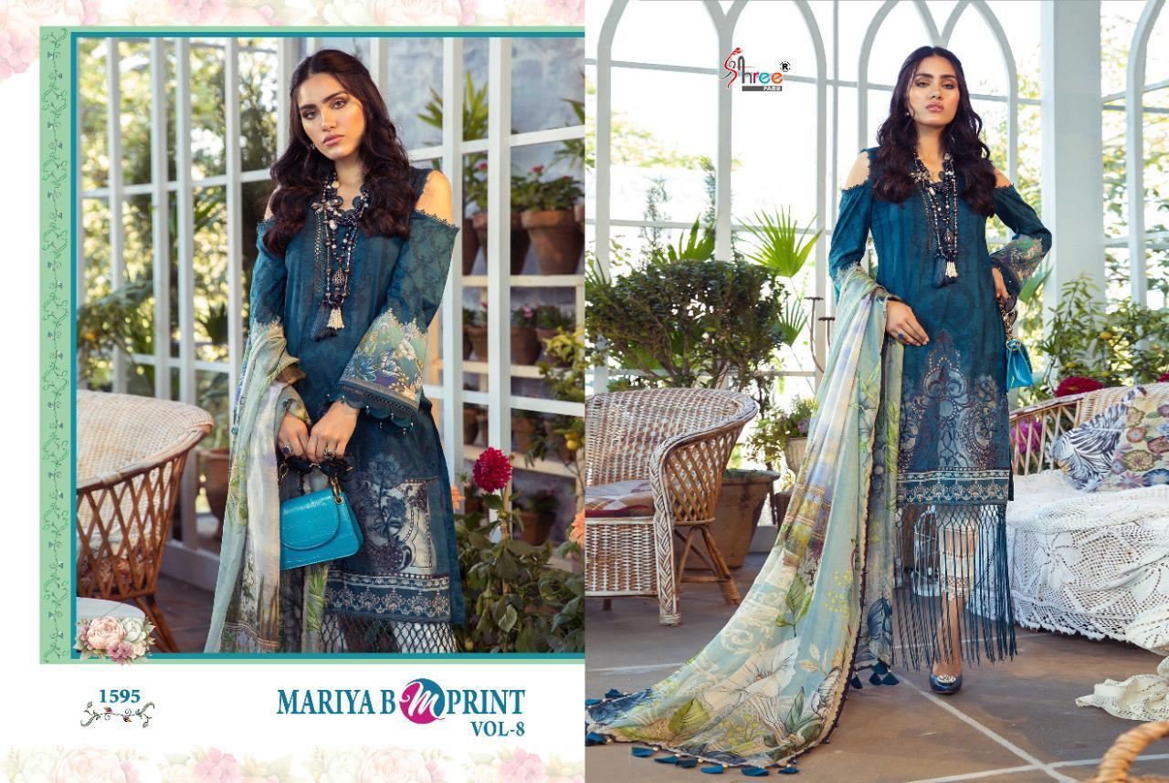 Shree Fabs Mariya B MPrint Vol 8 Salwar Suit Wholesale Catalog 9 Pcs 14 - Shree Fabs Mariya B MPrint Vol 8 Salwar Suit Wholesale Catalog 9 Pcs