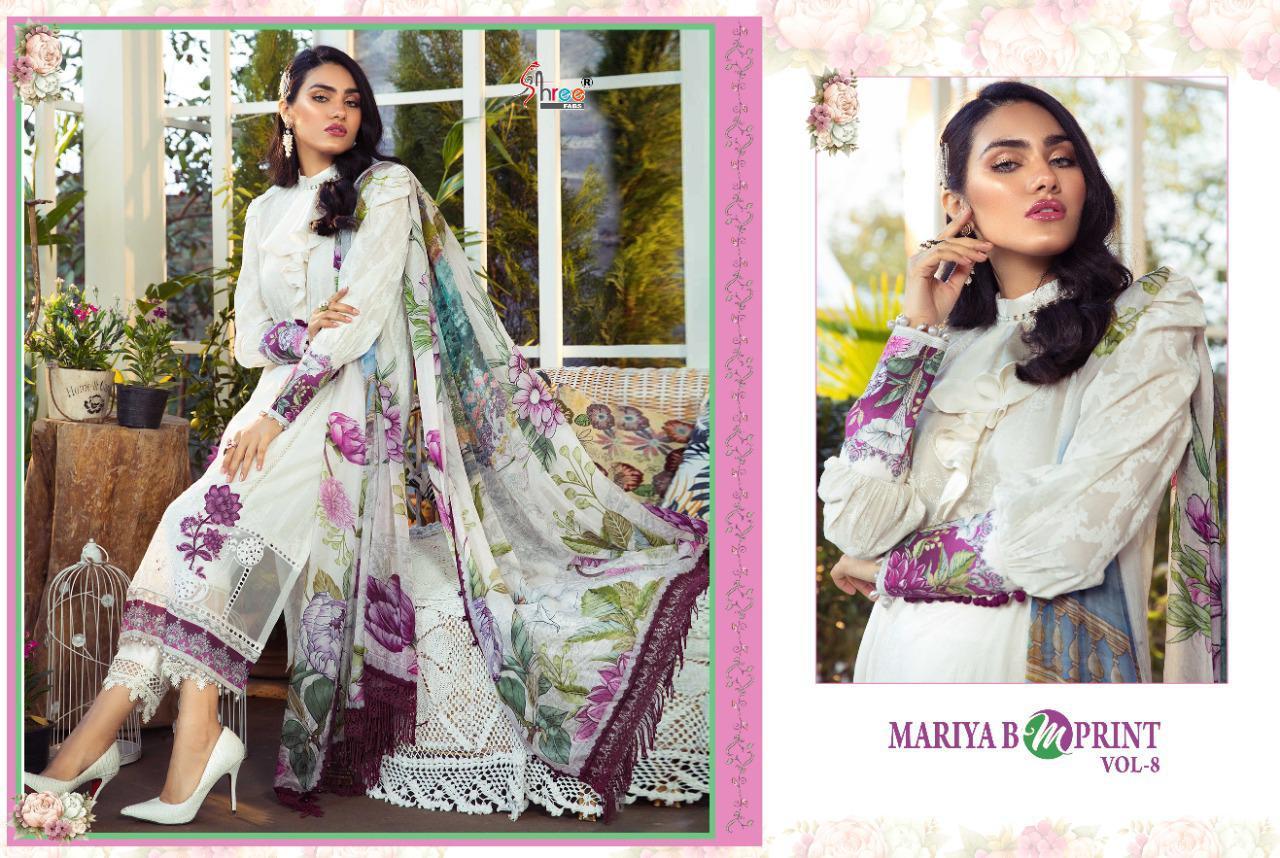 Shree Fabs Mariya B MPrint Vol 8 Salwar Suit Wholesale Catalog 9 Pcs 15 - Shree Fabs Mariya B MPrint Vol 8 Salwar Suit Wholesale Catalog 9 Pcs