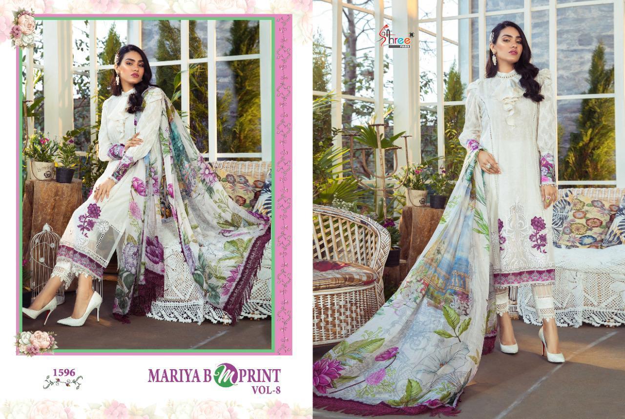 Shree Fabs Mariya B MPrint Vol 8 Salwar Suit Wholesale Catalog 9 Pcs 16 - Shree Fabs Mariya B MPrint Vol 8 Salwar Suit Wholesale Catalog 9 Pcs