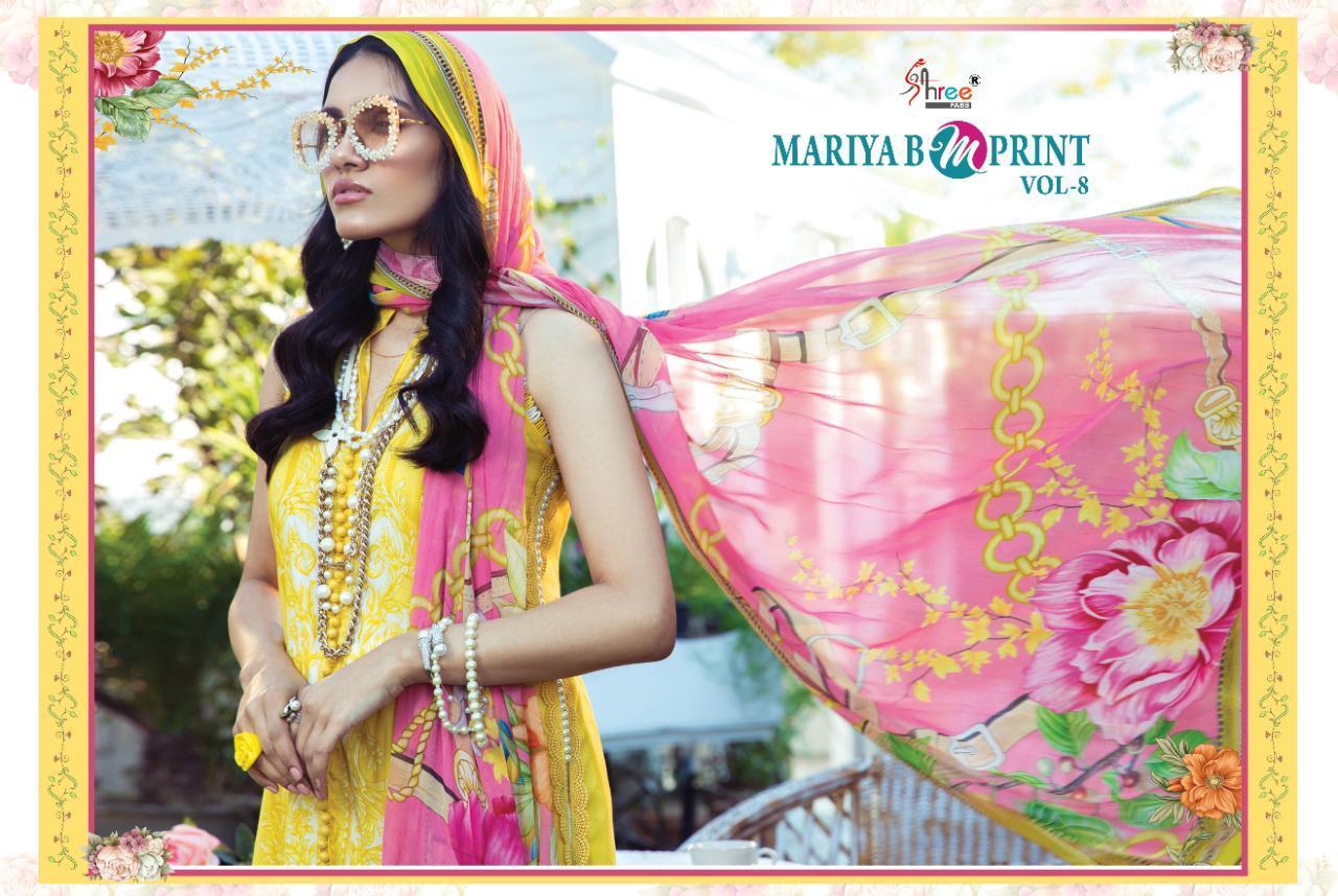 Shree Fabs Mariya B MPrint Vol 8 Salwar Suit Wholesale Catalog 9 Pcs 17 - Shree Fabs Mariya B MPrint Vol 8 Salwar Suit Wholesale Catalog 9 Pcs