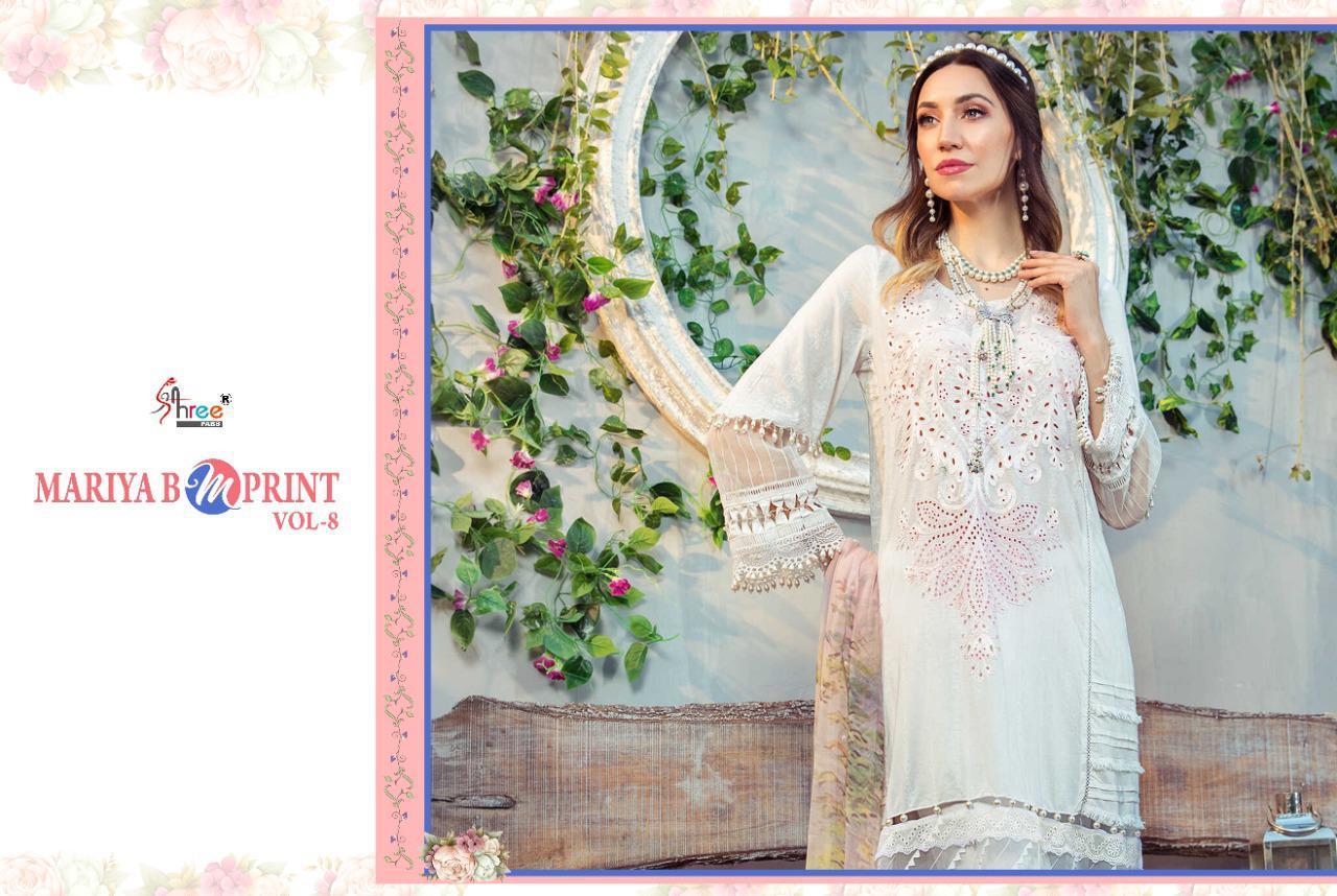 Shree Fabs Mariya B MPrint Vol 8 Salwar Suit Wholesale Catalog 9 Pcs 18 - Shree Fabs Mariya B MPrint Vol 8 Salwar Suit Wholesale Catalog 9 Pcs