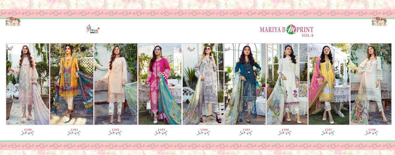 Shree Fabs Mariya B MPrint Vol 8 Salwar Suit Wholesale Catalog 9 Pcs 21 - Shree Fabs Mariya B MPrint Vol 8 Salwar Suit Wholesale Catalog 9 Pcs