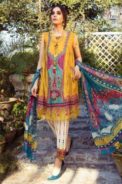 Shree Fabs Mariya B MPrint Vol 8 Salwar Suit Wholesale Catalog 9 Pcs