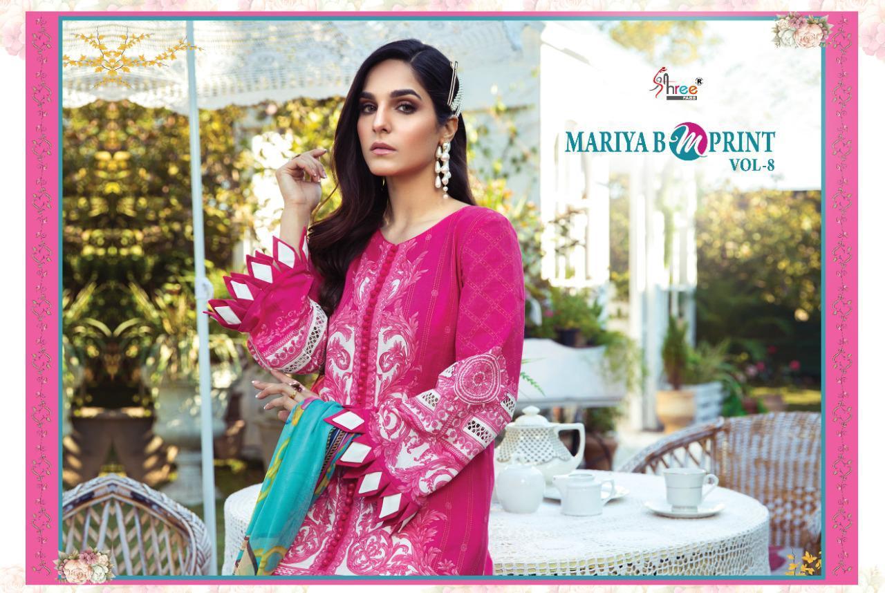 Shree Fabs Mariya B MPrint Vol 8 Salwar Suit Wholesale Catalog 9 Pcs 6 - Shree Fabs Mariya B MPrint Vol 8 Salwar Suit Wholesale Catalog 9 Pcs