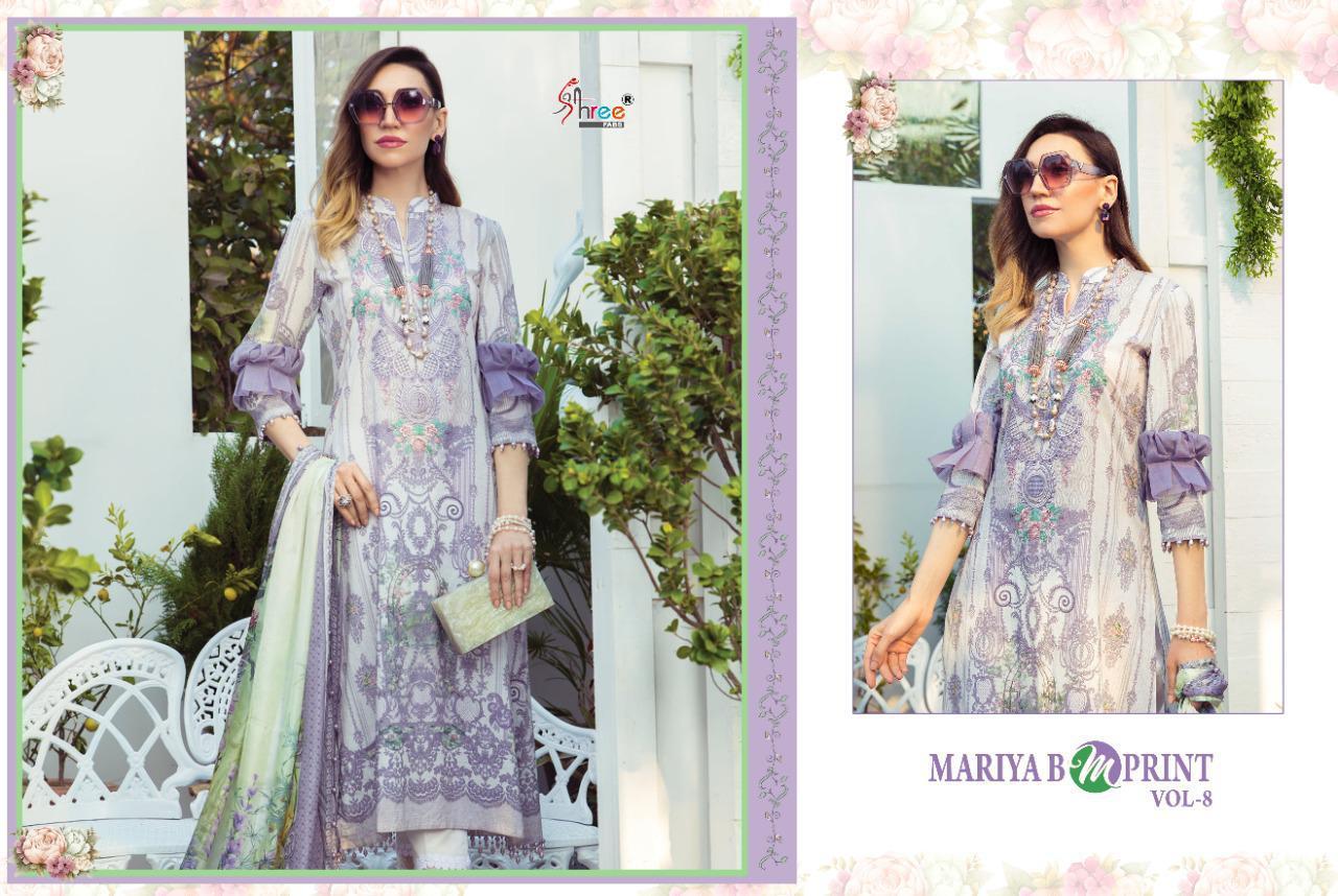 Shree Fabs Mariya B MPrint Vol 8 Salwar Suit Wholesale Catalog 9 Pcs 7 - Shree Fabs Mariya B MPrint Vol 8 Salwar Suit Wholesale Catalog 9 Pcs