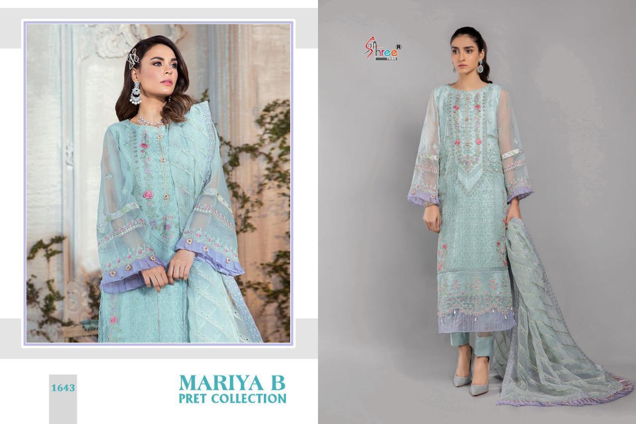 Shree Fabs Mariya B Pret Collection Salwar Suit Wholesale Catalog 4 Pcs 3 - Shree Fabs Mariya B Pret Collection Salwar Suit Wholesale Catalog 4 Pcs