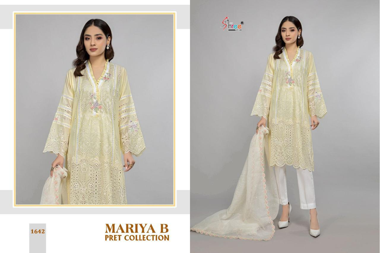 Shree Fabs Mariya B Pret Collection Salwar Suit Wholesale Catalog 4 Pcs 4 - Shree Fabs Mariya B Pret Collection Salwar Suit Wholesale Catalog 4 Pcs