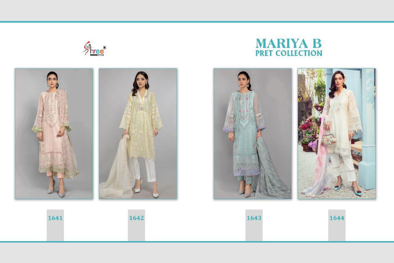 Shree Fabs Mariya B Pret Collection Salwar Suit Wholesale Catalog 4 Pcs 6 - Shree Fabs Mariya B Pret Collection Salwar Suit Wholesale Catalog 4 Pcs